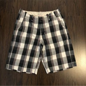 American Eagle Size 30 (actual 32) Plaid Shorts